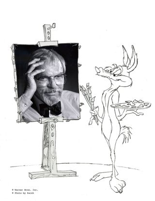 Chuck Jones by Wile E Coyote