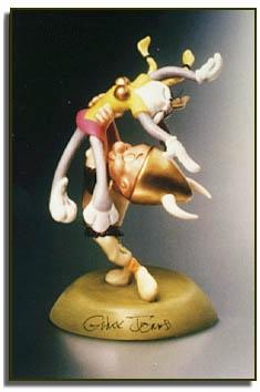 Paw de Deux figurine